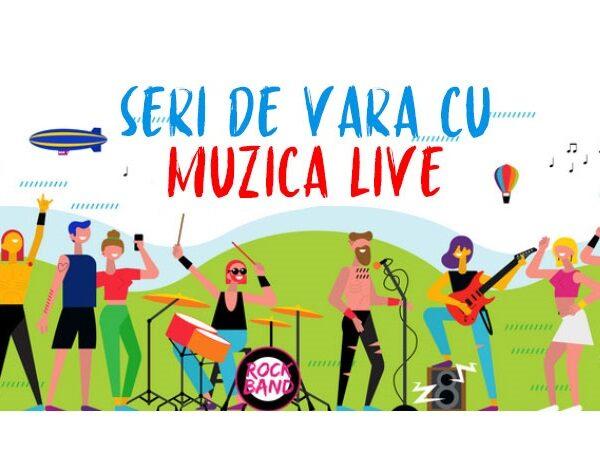 Concerte în seri de vară